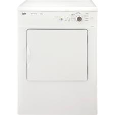 White 6kg Vented Tumble Dryer DSV64