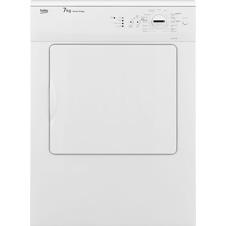 White 7kg Vented Tumble Dryer DVSC711