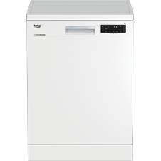 White Full Size Dishwasher DFN28320