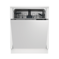 A Integrated Dishwasher a high 14 place settings capacity DIN26X22