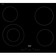 Built-in Black Ceramic Hob HIC64402T