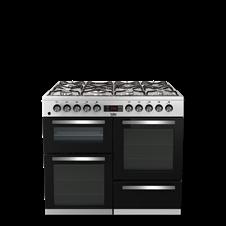 100cm double oven range cooker KDVF100
