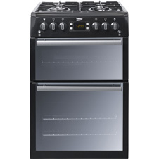 Black Gas Cooker BDVG674
