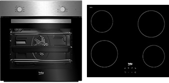 Multifunction Built-in Oven & Ceramic Hob Pack QSE222X