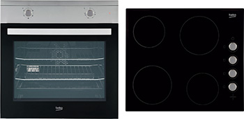 Built-In Fan Oven & Ceramic Hob Package QSF212X
