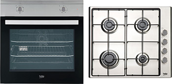 Built-In Fan Oven & Gas Hob Package QSF213SX