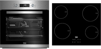 Multifunction Built-in Oven & Induction Hob Pack QSM223X