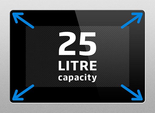25L Capacity