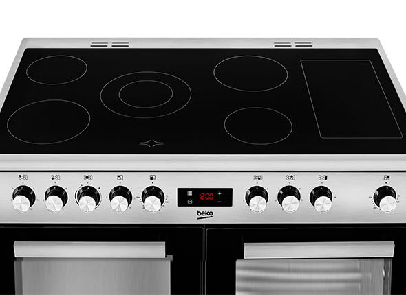 Five-zone Ceramic Hob