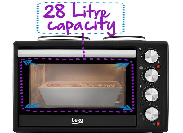 28L Capacity