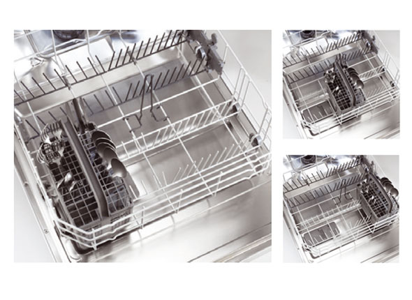Removable Sliding Cutlery Basket
