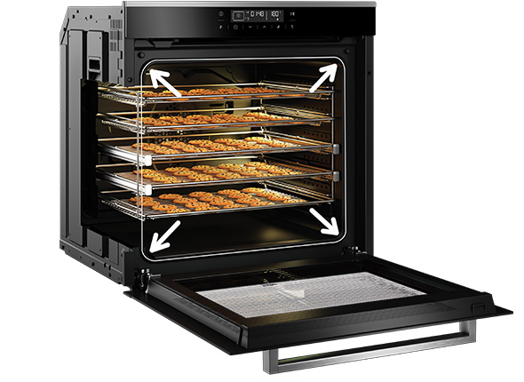 Large 82L Oven Capacity