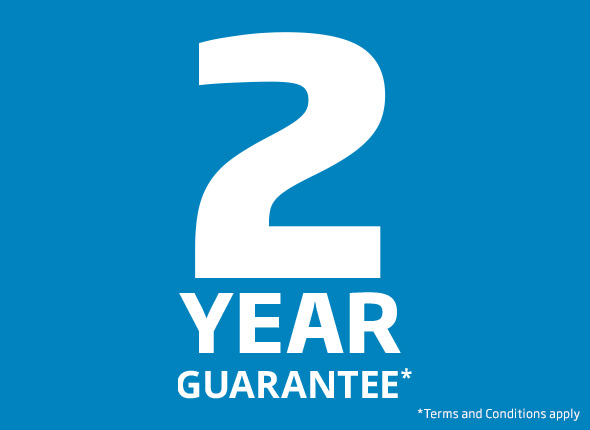 2 year guarantee on all Beko Built-in appliances