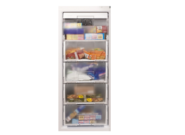 Five Freezer Drawers