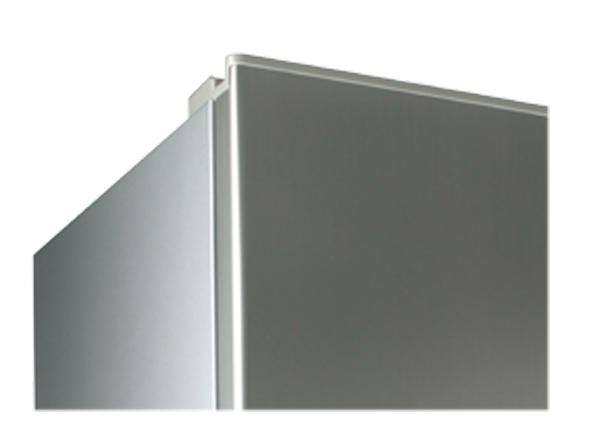 Concealed top door hinges