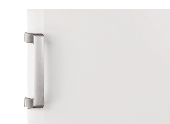 Elegant fixed door handle