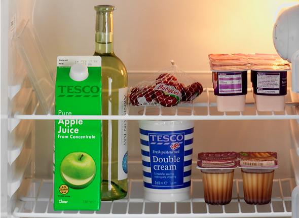 Shelf With Bottle Flap
