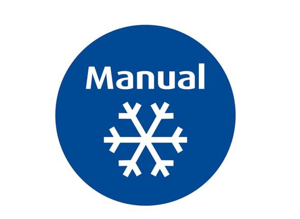 Manual defrost