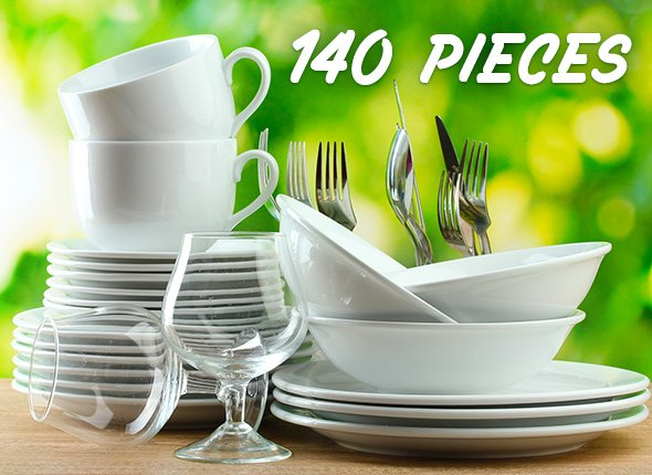 12 Place Setting Capacity