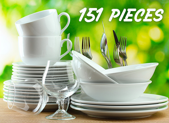 13 Place Setting Capacity