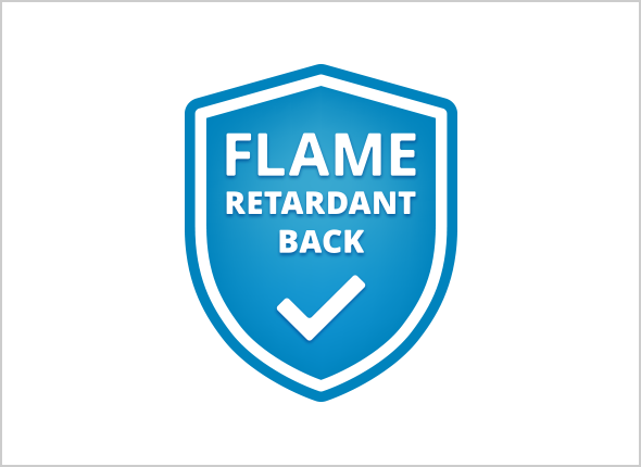 Flame Retardant Back