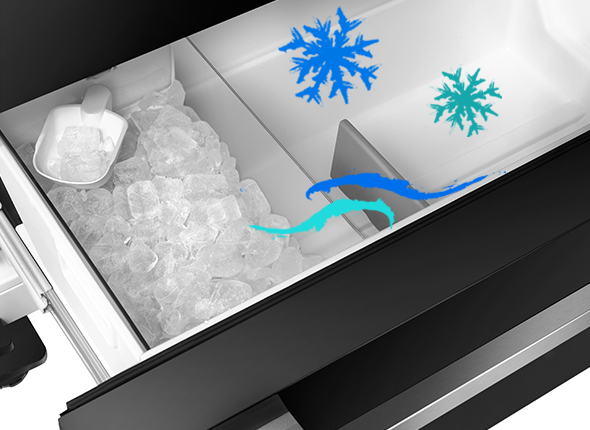 Internal Ice Maker