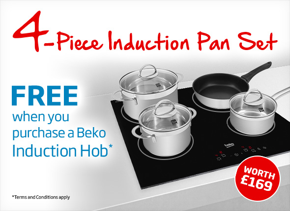 Induction pan promotion