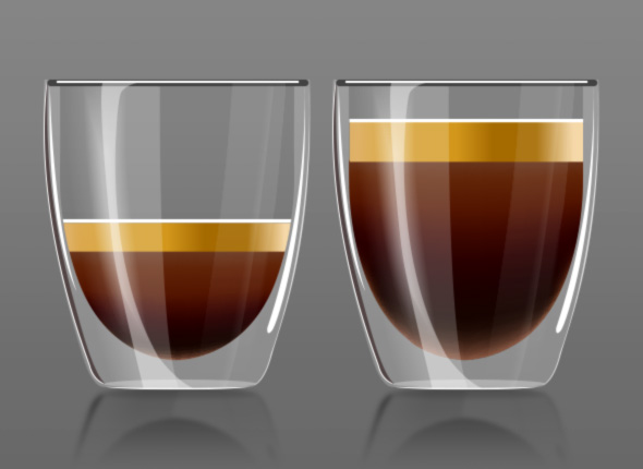 One touch single or double espresso