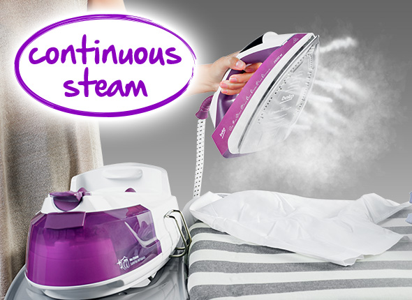 Continuous Steam