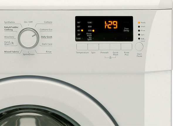 Freestanding A 9kg 1200rpm Washing Machine Wmb91233l Beko Uk