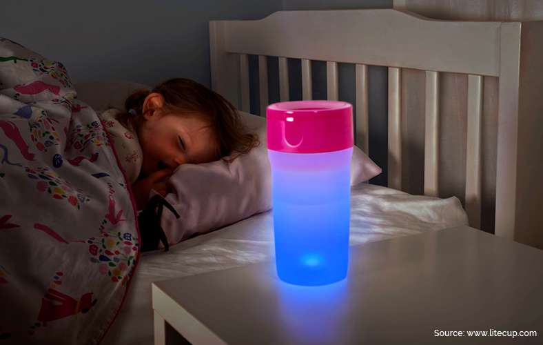 Cup that's also a nightlight