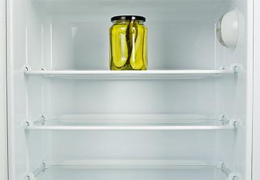 clean fridge