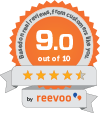 9.0 out of 10 score be reevoo