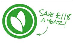 Save £118 a year!