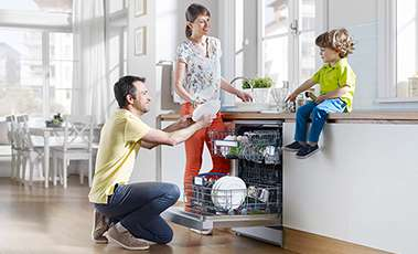 A range of dishwashers from Beko