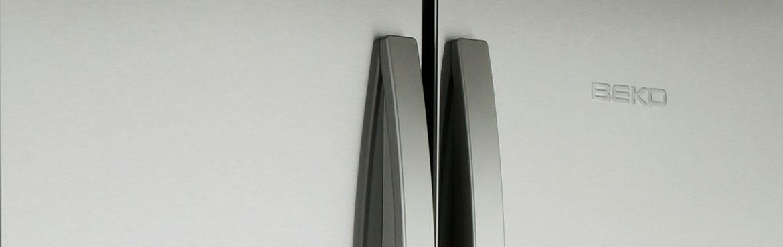 Close up picture of Beko fridge