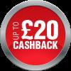 Cashback 20GBP