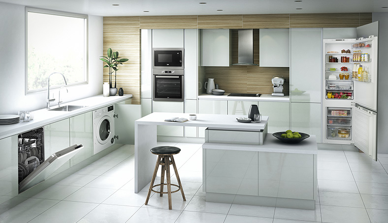 built in kitchen cabinet design five benefits of a built in kitchen beko uk 7991