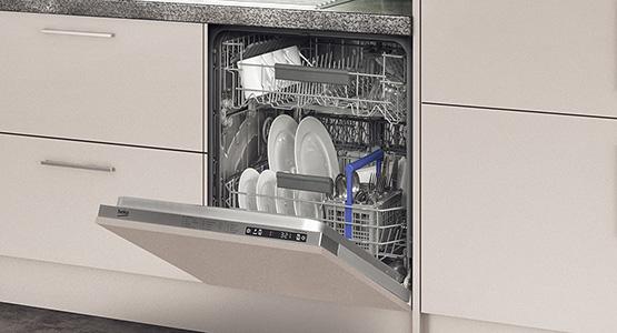 Fullsize and slimline dishwashers