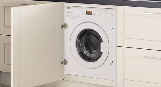 Energy efficient stylish build in washing machines