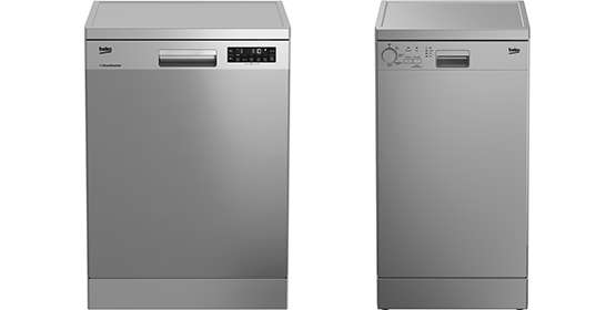 full size and slimline dishwashers