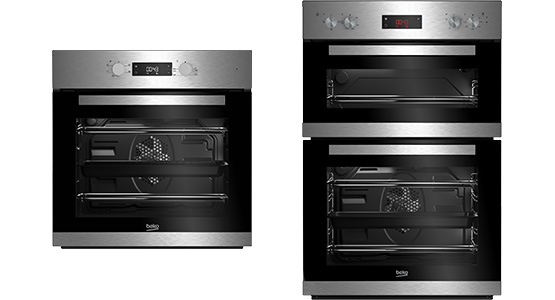single and double ovens