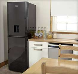 traditional combi fridge freezer to chill and freeze food