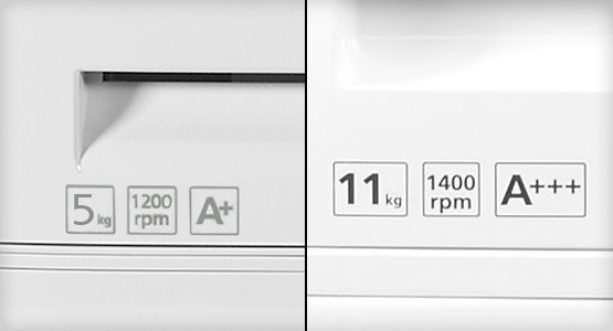 A+ and A++ Energy rated Beko washing machine