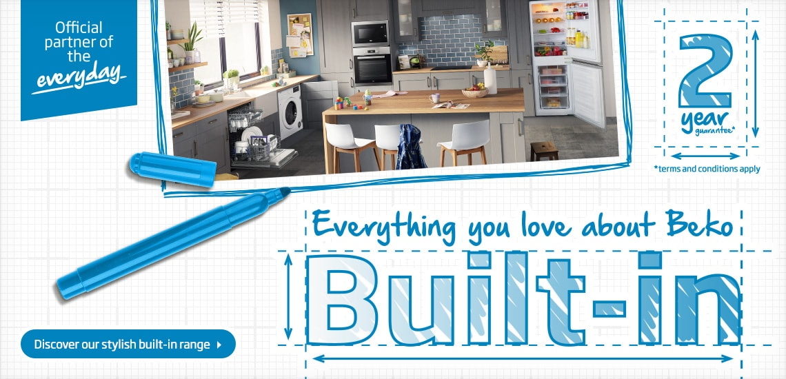 Discover our stylish built-in range