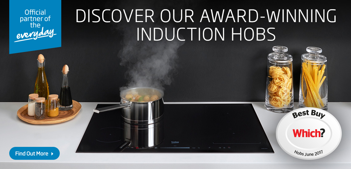 Discover our Award-Winning Indeyflex Induction Hob
