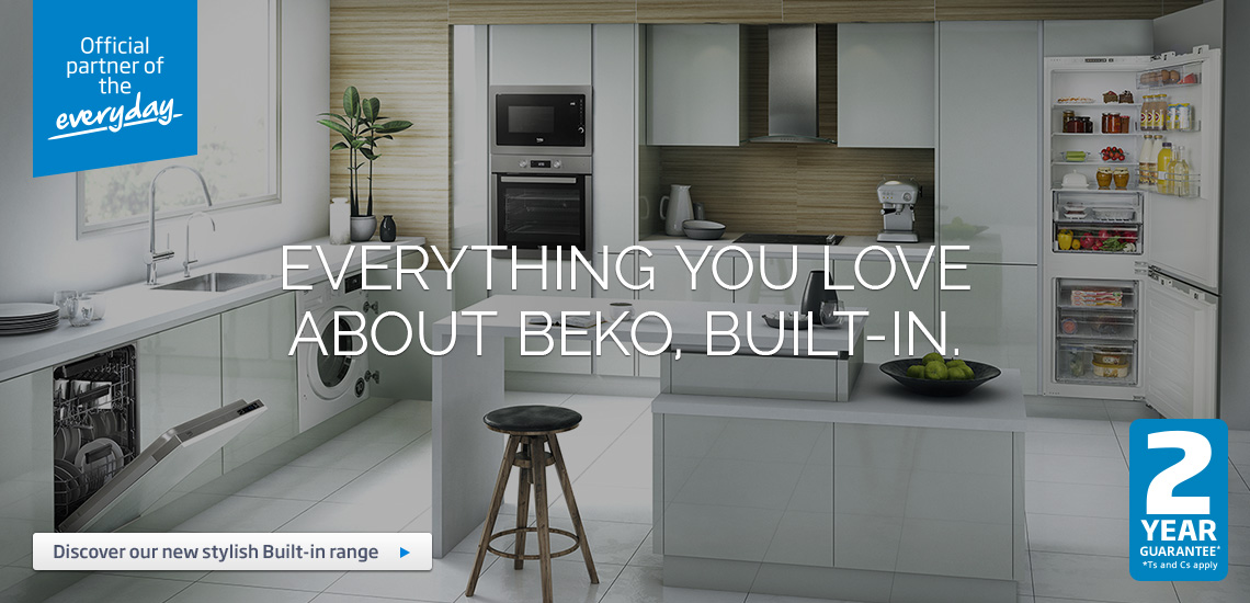 Get Everything you love about Beko, Built-In
