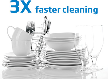 slimline dishwasher faster cleaning