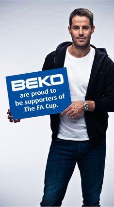 Beko are proud to be supporters of The FA Cup.