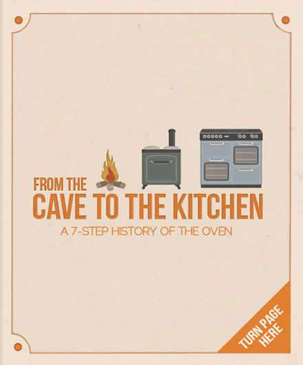 Cave to Kitchen - click to turn page